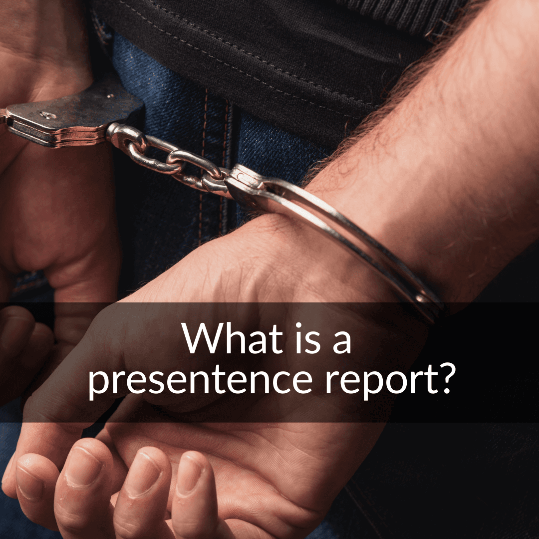 what is a presentence report