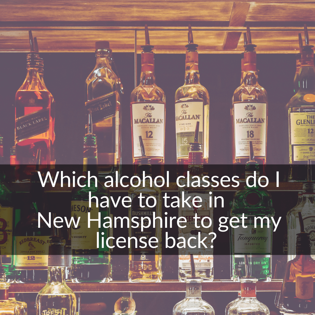 alcohol classes in New Hampshire